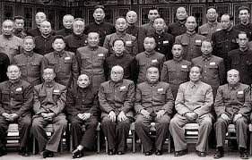 Communists showing their nonconformity.