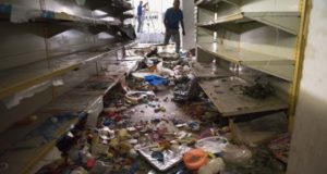 Looted Shelves in Venezuela